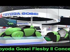 Концепция Toyoda Gosei - мягкий резиновый экстерьер!