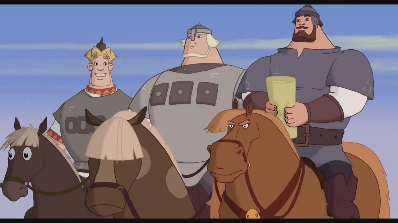 Картинки трех богатырей не из мультика